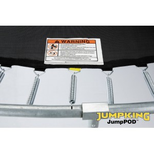 Jumpking 8ft x 11.5ft Oval JumpPod Premium Trampoline