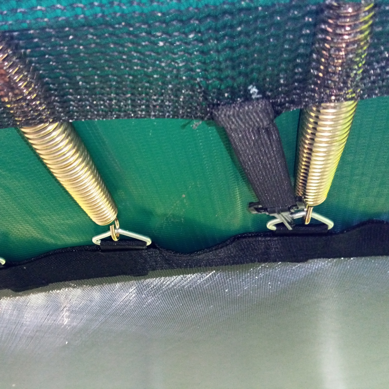 Netting ties on Jumpire Premium Trampoline 13 foot